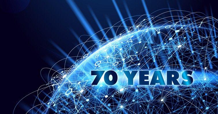 70 Years Globe