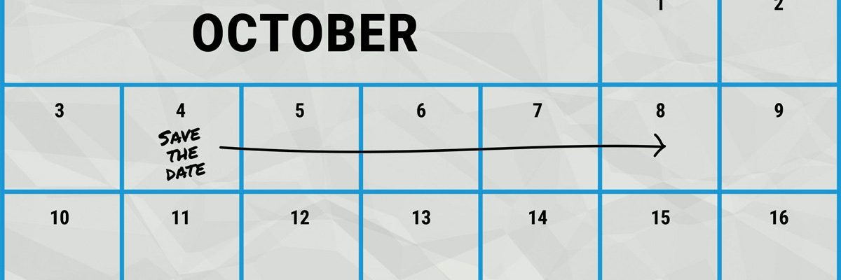 Calendar October 4–8 Marked